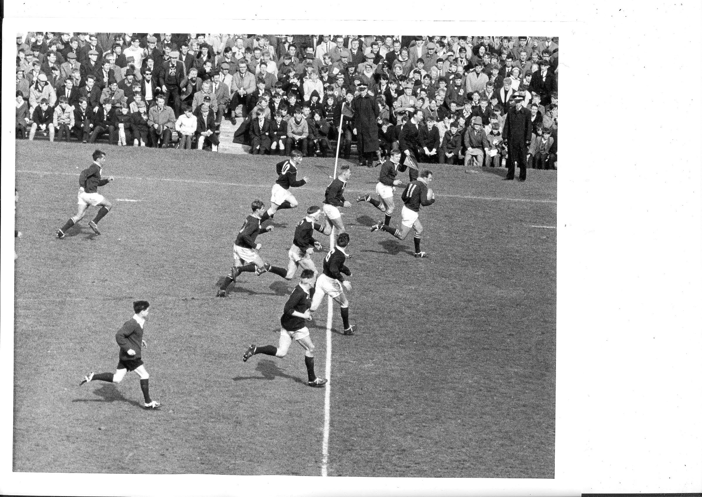 1965 rugby: Scotland v South Africa