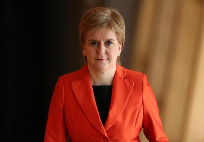 Make my day: Sturgeon dismisses idea independence is way of avoiding responsibility: 'Go on, call my bluff'