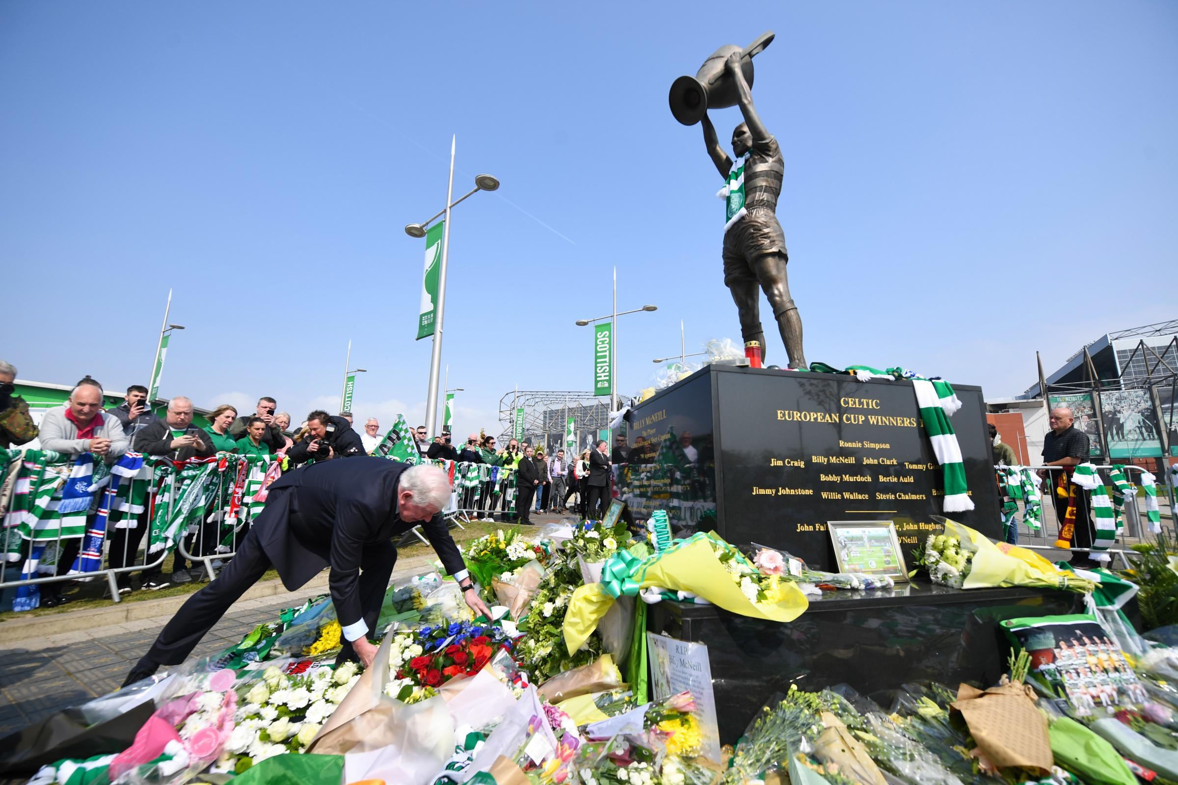 Funeral of Lisbon Lion and club legend Billy McNeill to pass Celtic Park