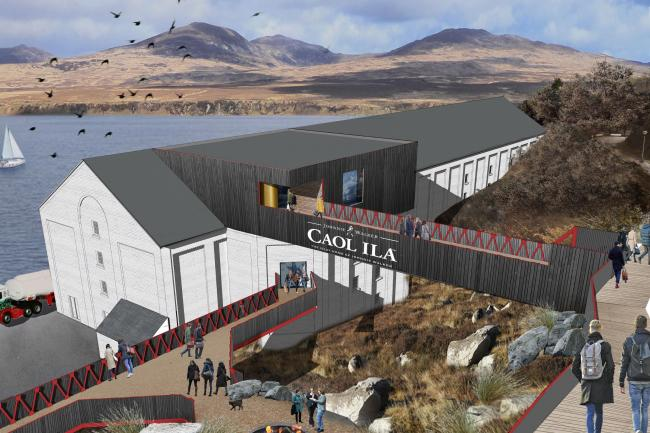 Diageo's Islay whisky distillery visitor centre gets go ahead