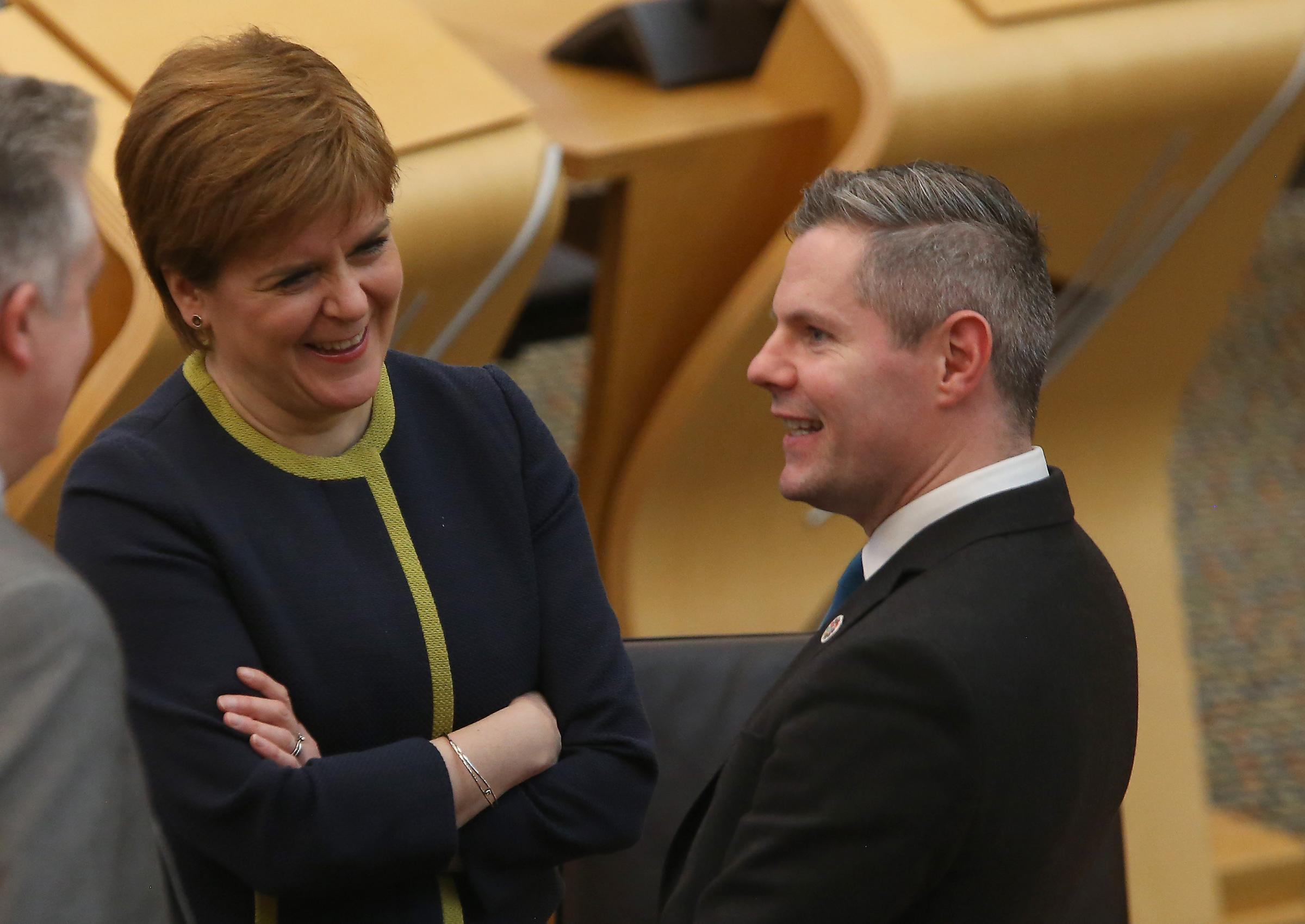 SNP's Mackay hits mark on Brexit amid independence poll sound and fury