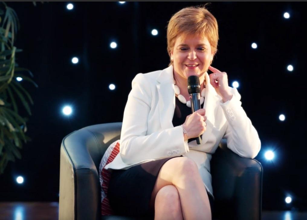 Nicola Sturgeon reveals her first job was a a door-to-door tattie scone seller
