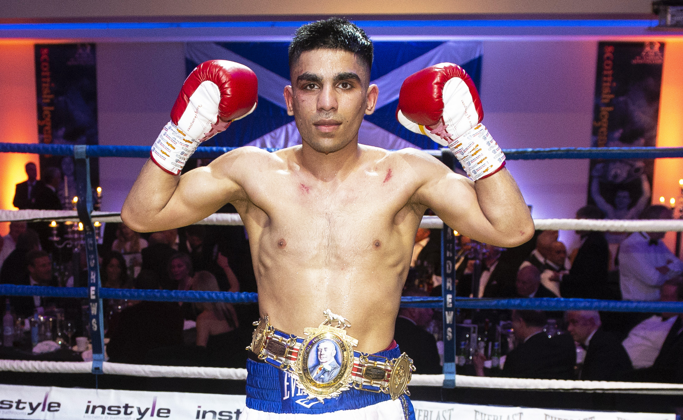 Kash Farooq is keen to get in the ring with Lee McGregor PHOTO: SNS