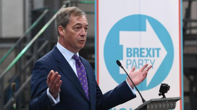 Poll suggests support for Brexit Party stands at 13% ahead of European elections