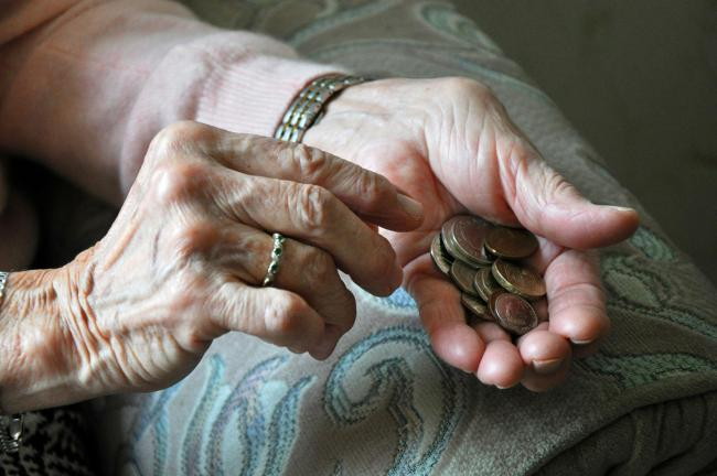 The vast majority of pensioners are not even comfortably off