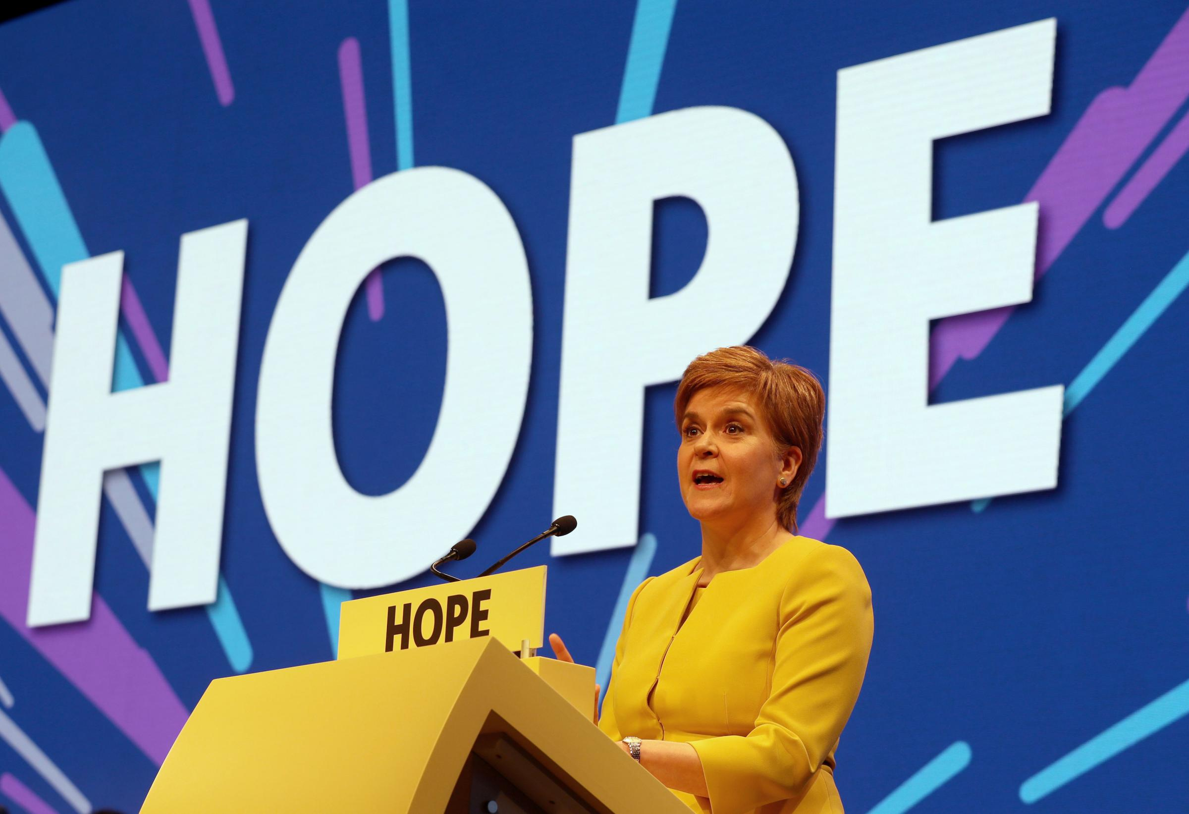Nicola Sturgeon says rumours of her stepping down are