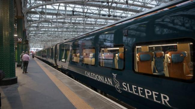 Caledonian Sleeper's new £150 million fleet launched