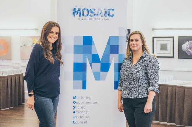 Claire Debney (left) and Emma Sharpe first launched Mosaic in 2015 but recently relaunched it as a technology-driven platform