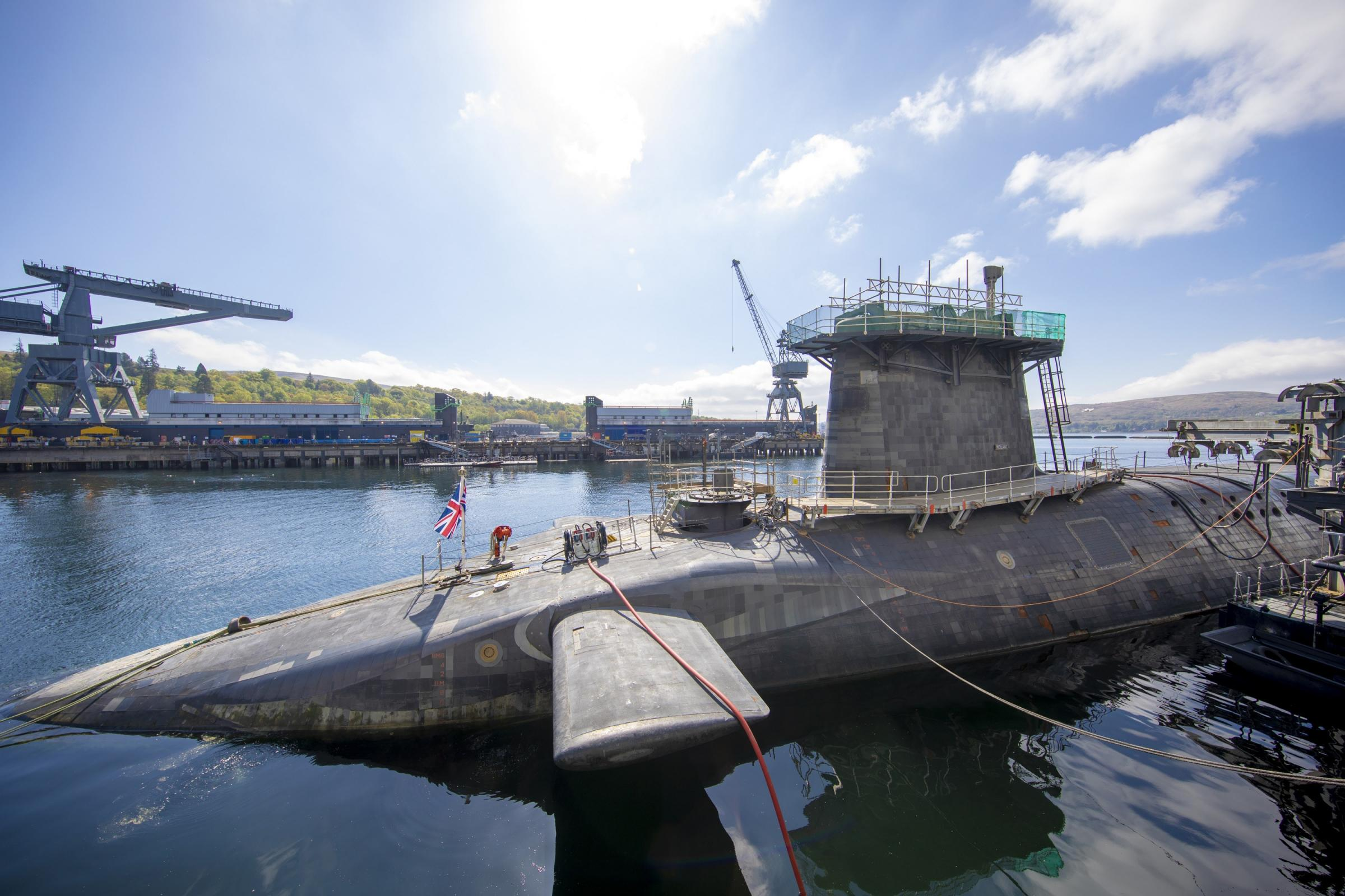 SNP considers railway station for Trident nuclear base