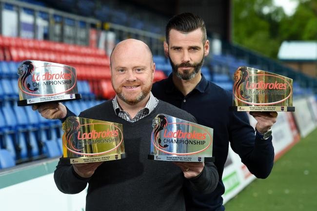 Ross County co managers Stuart Kettlewell and Steven Ferguson are named the Ladbrokes Championship Managers of the Year and also collect the Ladbrokes Championship Manager of the Month award for April