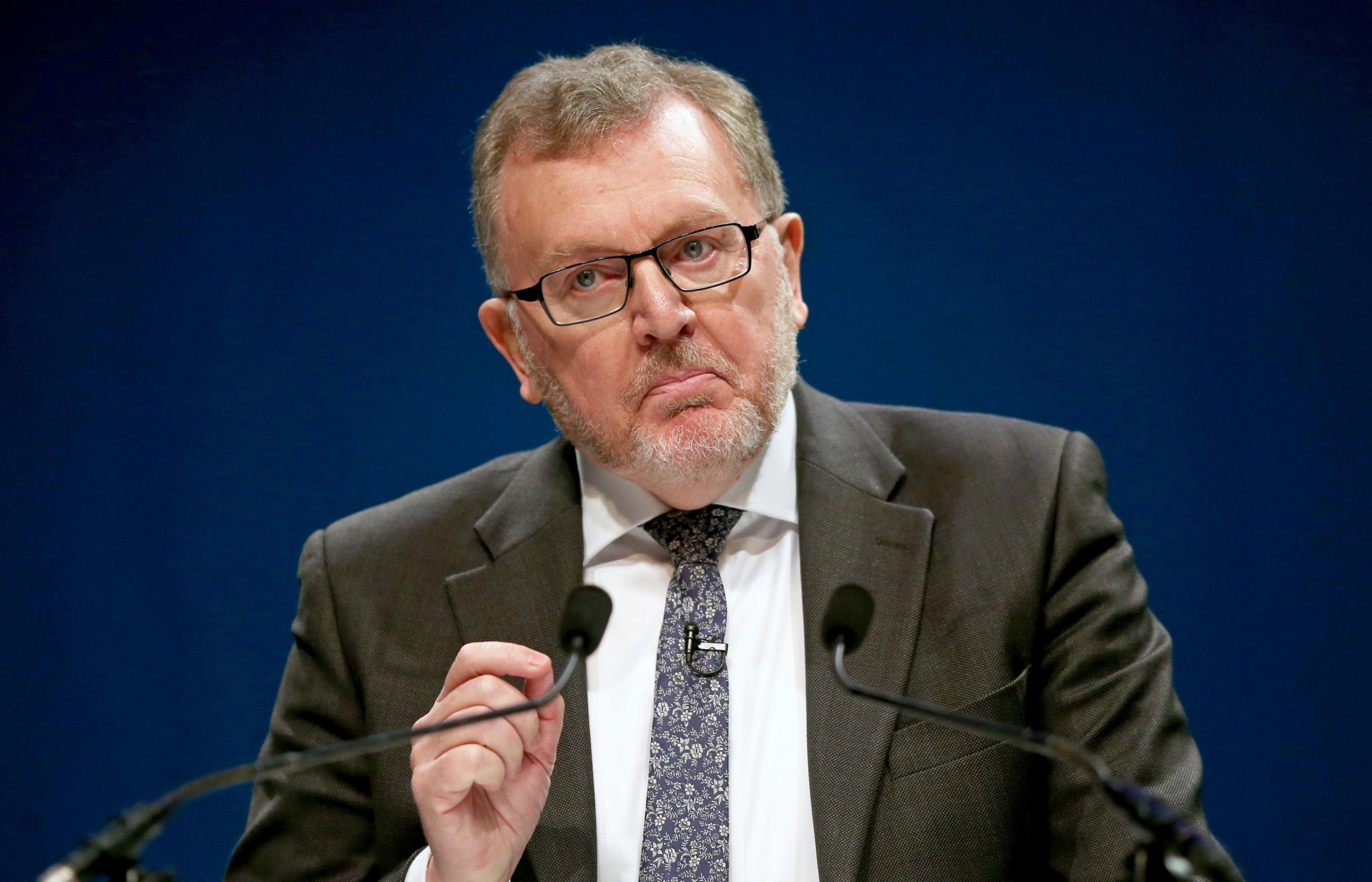 On the rocks? Mundell insists Brexit talks 'not exhausted' as he urges Corbyn to do a deal with May