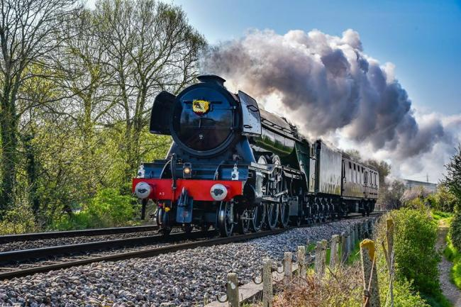 Flying Scotsman gets video cameras to catch rail enthusiasts on tracks