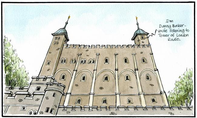 Camley's Cartoon on Saturday, May 11: UK welcomes Royal baby