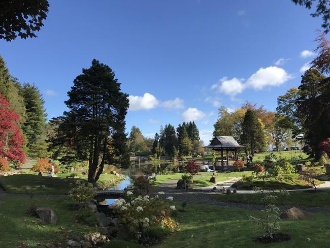 Garden Of The Week The Japanese Garden At Cowden Heraldscotland