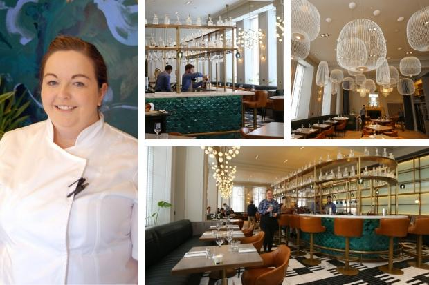 First female five-star hotel executive head chef in Scotland starts at £1m Blythswood Hotel restaurant