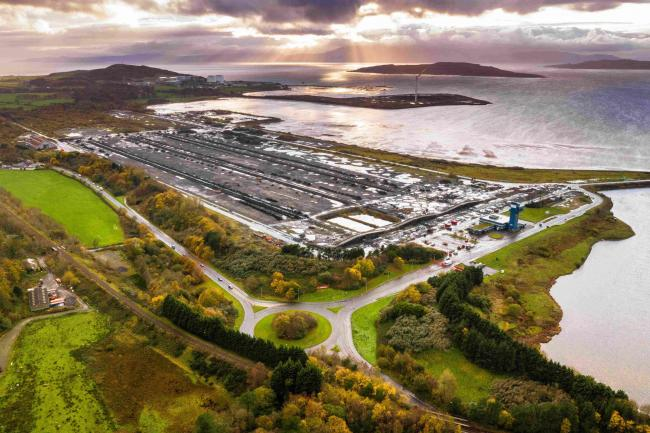 Controversial plan for north Ayrshire port expected to support 1700 jobs