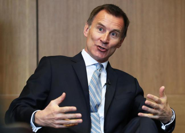 Brexit could be the death of the Conservative Party warns Jeremy Hunt as he warns against general election