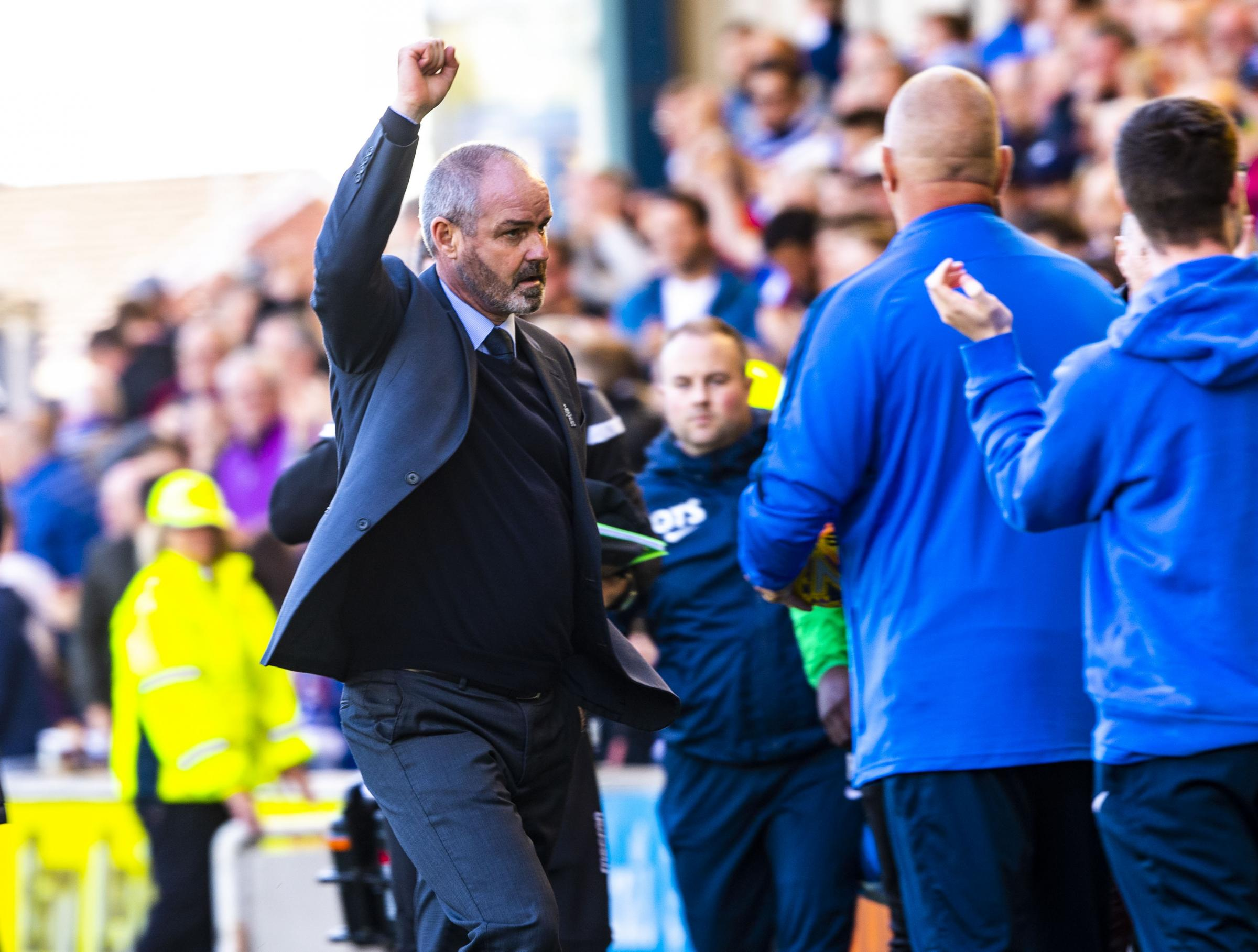Steve Clarke is the man at the top of the SFA's wishlist
