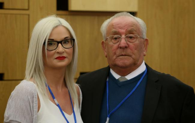 Gillian Murray and David Ramsay Snr, the niece and father of suicide victim