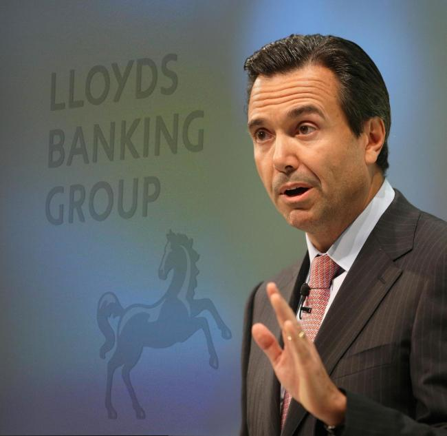 Lloyds' chief executive Antonio Horta-Osorio