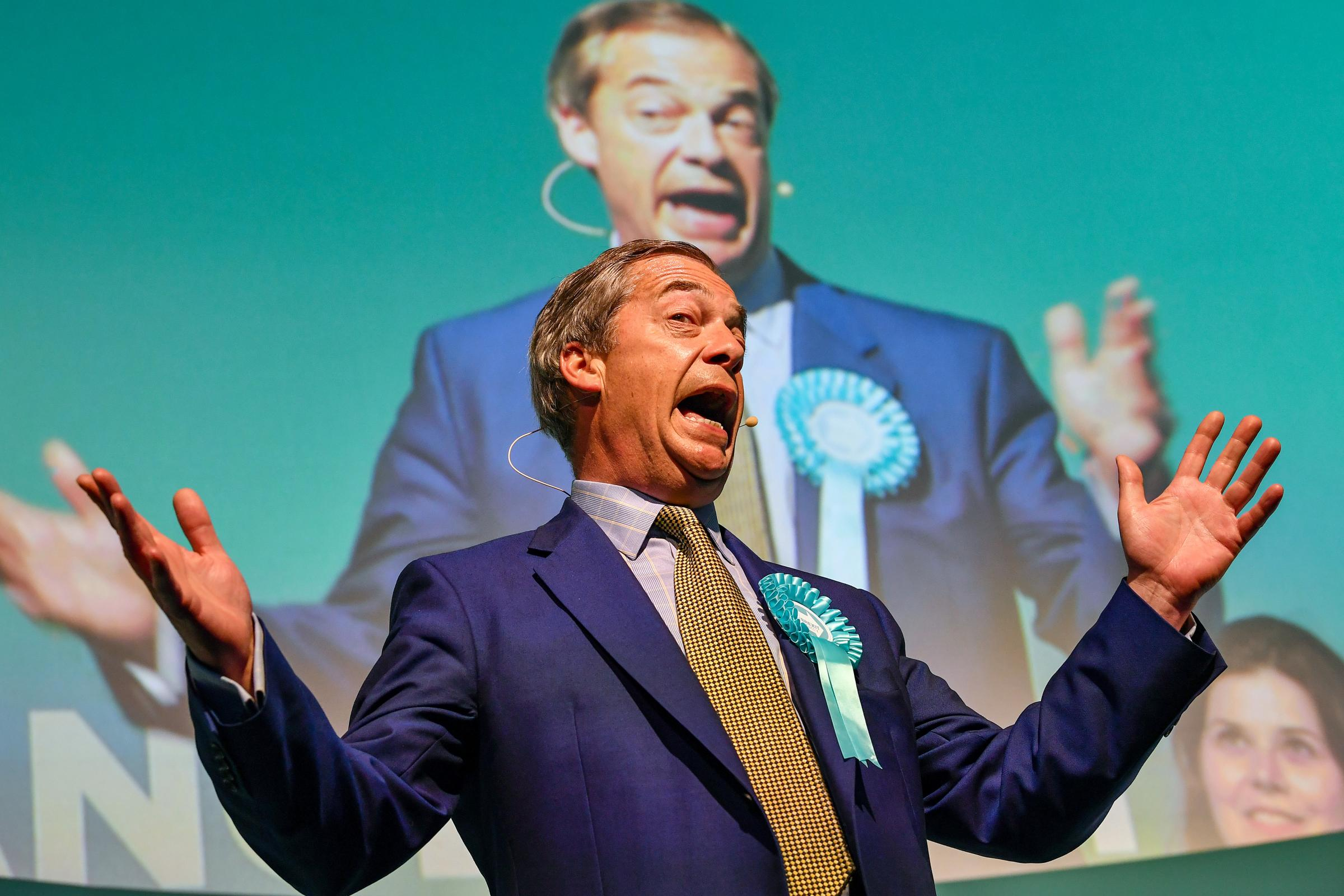 Incompetent Labour and Tories have left the door wide open for Farage