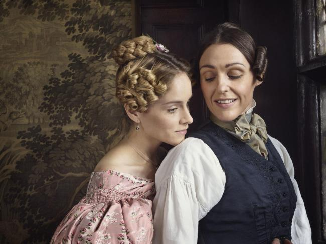 Sophie Rundle and Suranne Jones play Ann and Anne in Gentleman Jack