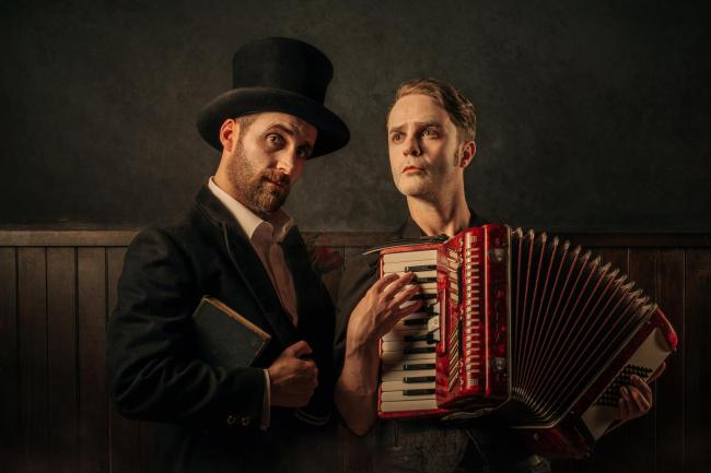 Robert Jack and Biff Smith in  Vanishing Point's production of The Dark Carnival Unplugged. Image by  Mihaela Bodlovic.jpeg