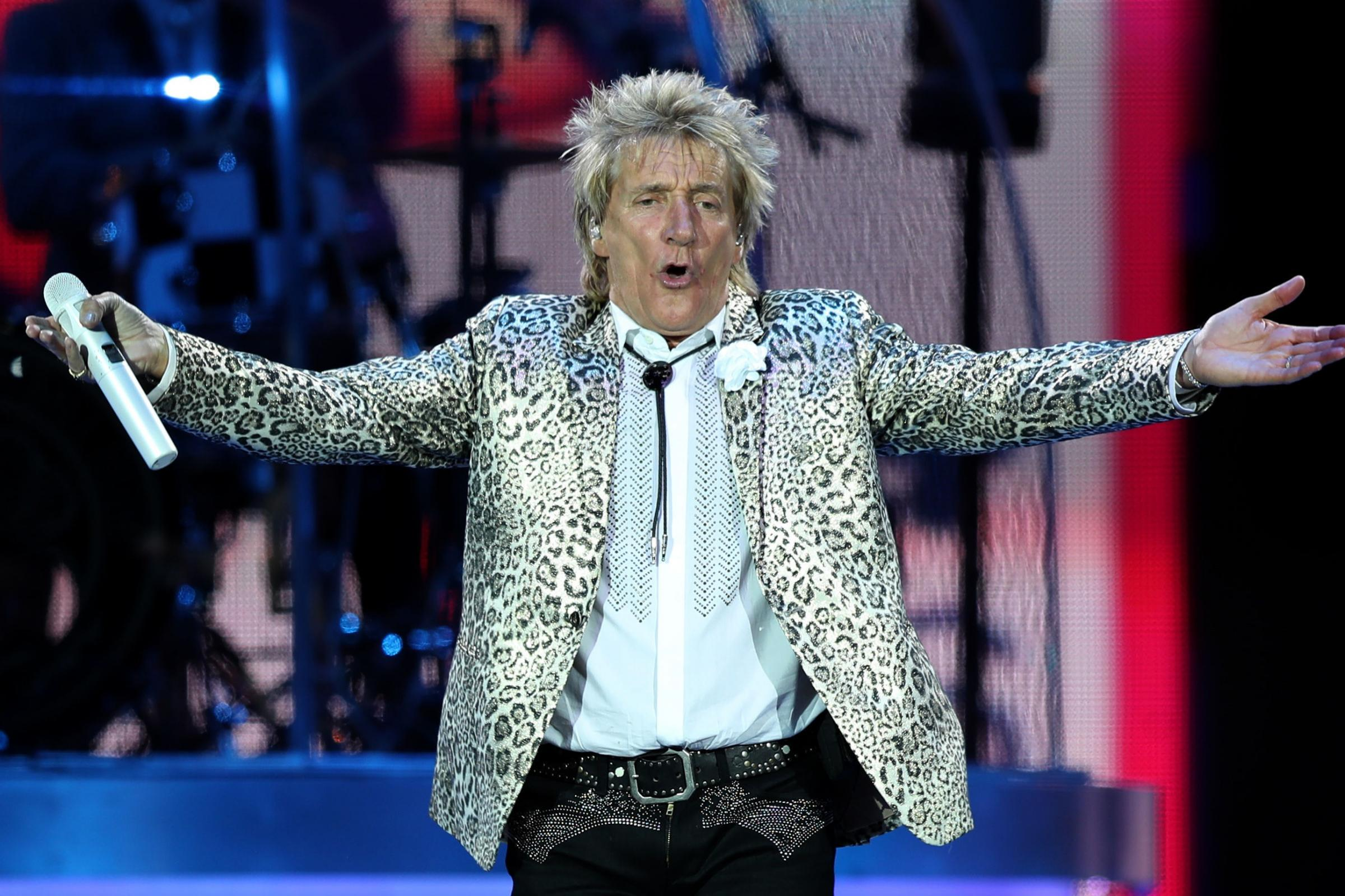 Rod Stewart's Aberdeen concert cancelled amid safety fears due to adverse weather