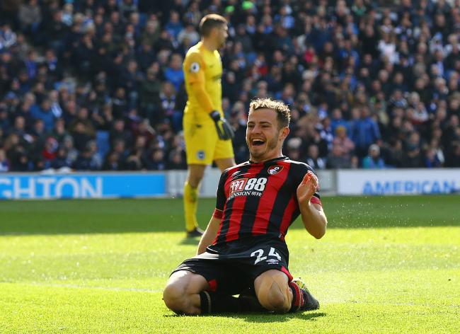 Aberdeen could receive a significant sum if Ryan Fraser leaves Bournemouth this summer PHOTO: PA