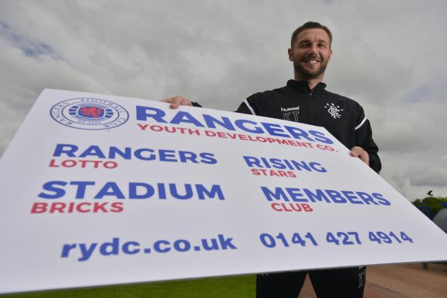 Kevin Thomson promotes the Rangers Youth Development Company