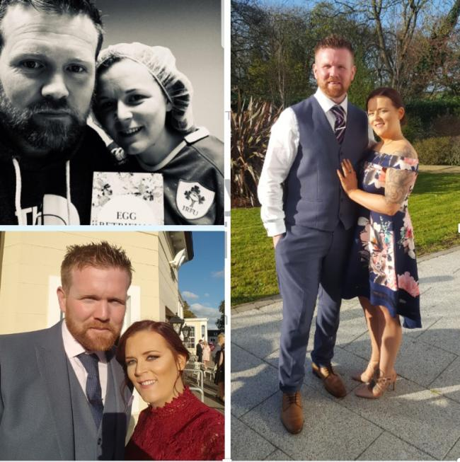 Della McGill and Ryan Cunningham are expecting their first child after winning a competition for IVF