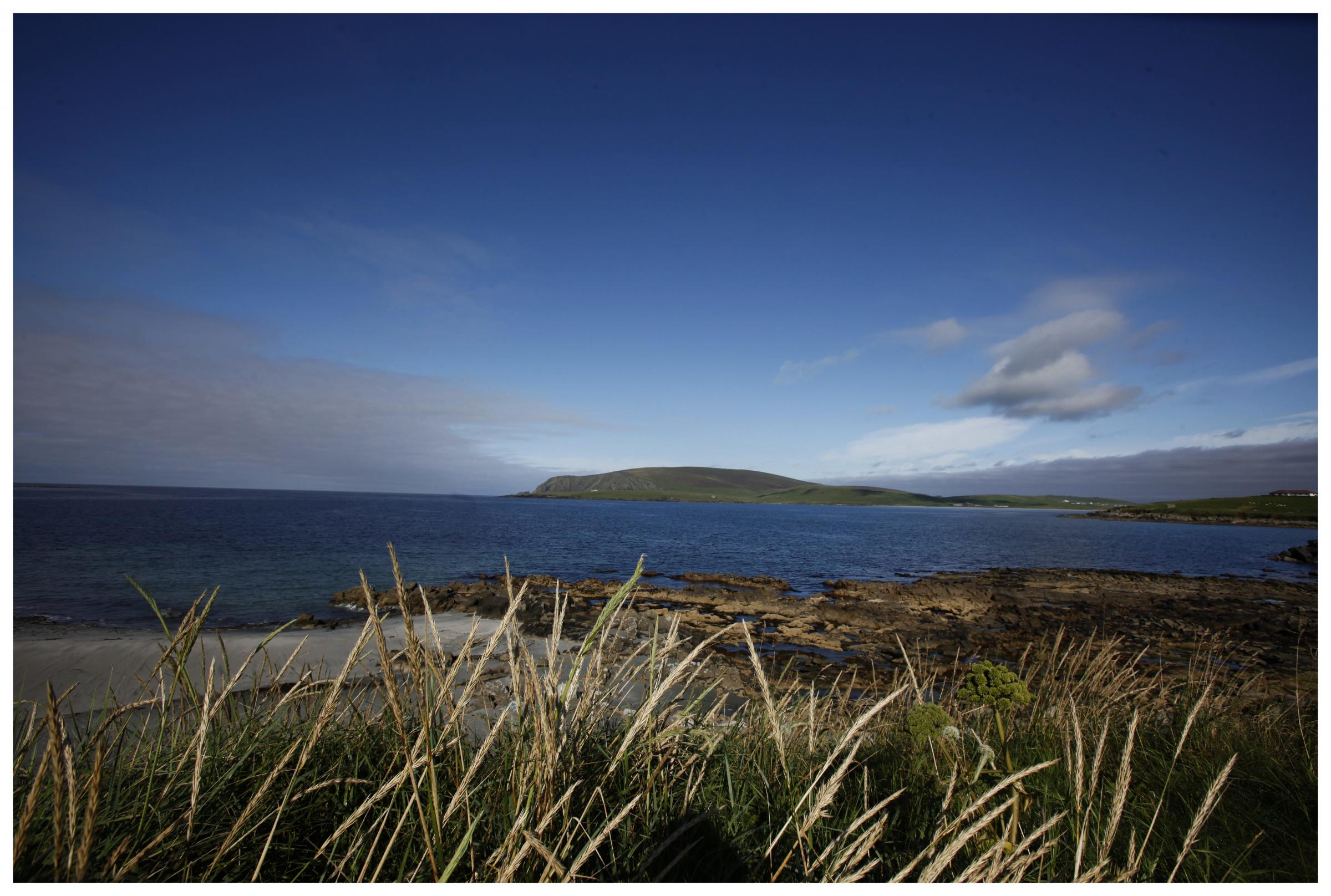 Shetland will not be a beautiful tourist attraction for much longer