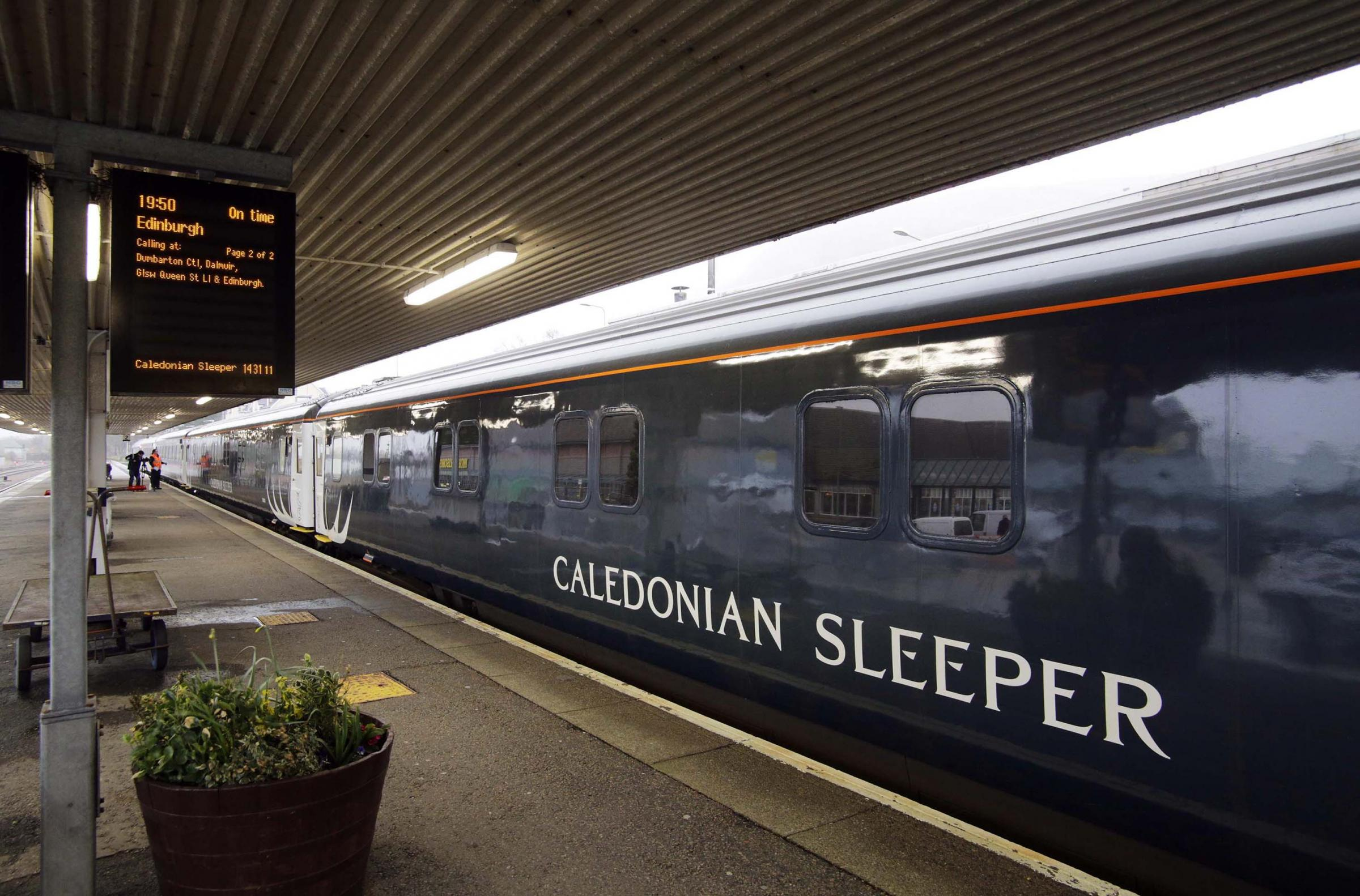 Staff working on Caledonian Sleeper service threaten strike ballot