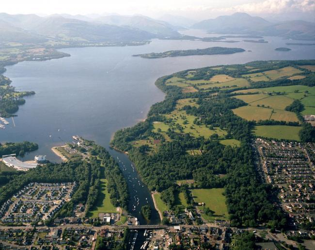 A holiday resort is planned on the shores of Loch Lomond.