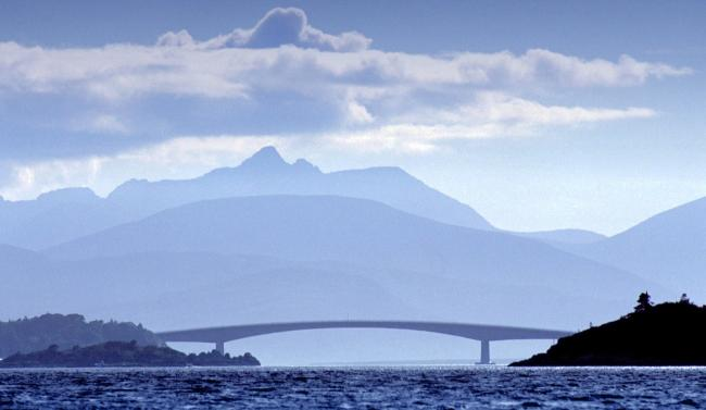The bridge from the mainland to the Isle of Skye (Colin Mearns)
