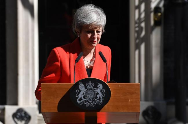 Politicians react as Theresa May stands down as Conservative leader