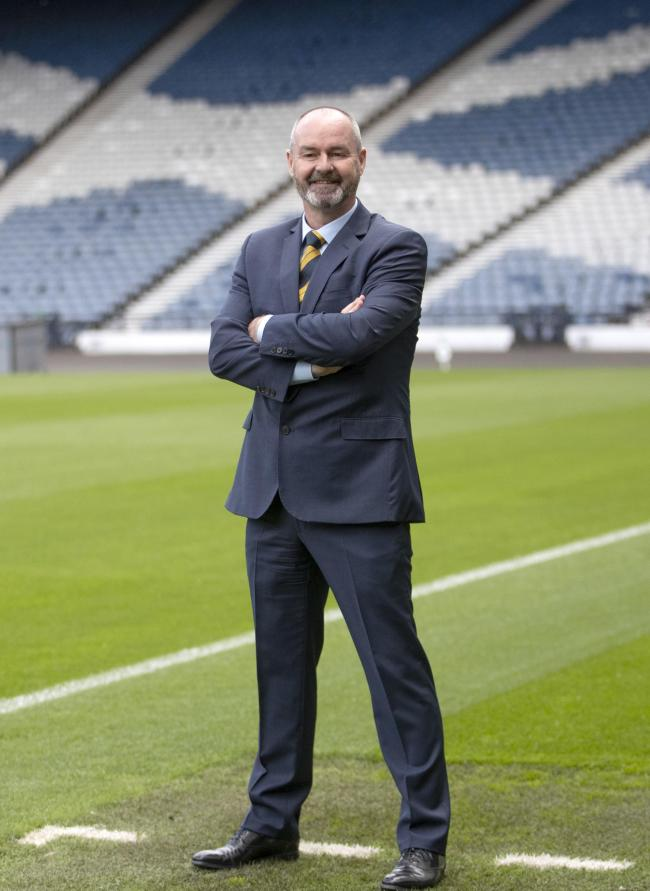 Steve Clarke said all the right things on his first day as Scotland manager