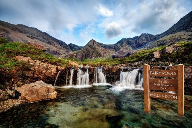 Two rescued at Fairy Pools on Skye
