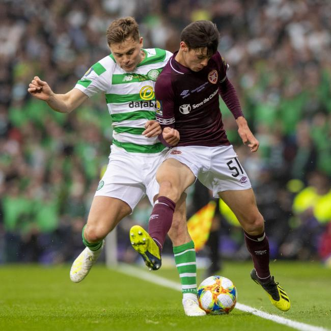 Aaron Hickey was a standout performer for Hearts in the Scottish Cup final.