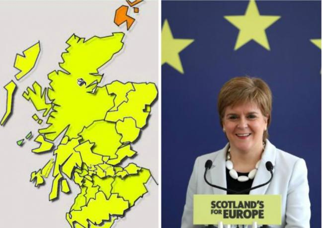 In full: Every Scottish local authority result in the European elections