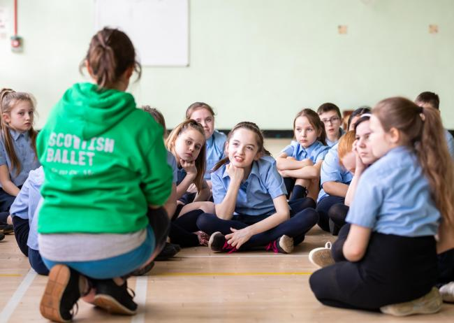 Primary school children are being invited to explore the subjects through the medium of dance