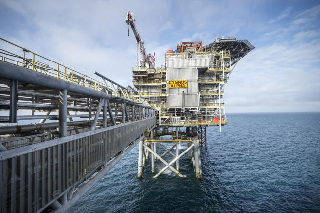 Neptune Energy has a stake in the Cygnus field in the North Sea, which it says supplies six per cent of the UK's gas production.