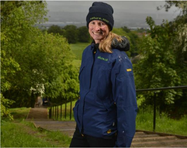 GLASGOW, SCOTLAND - MAY 28: Francesca Osowska (Chief Exec of Scottish Natural Heritage) poses for a photograph at Fernbrae Meadows.  The site, a former golf course situated between Rutherglen and Castlemilk has been redeveloped by Scottish Natural Heritag