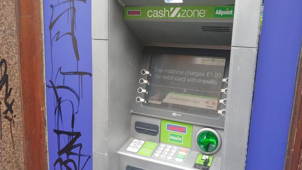 MP bids to have 'rip off' cash machine charges outlawed   HeraldScotland