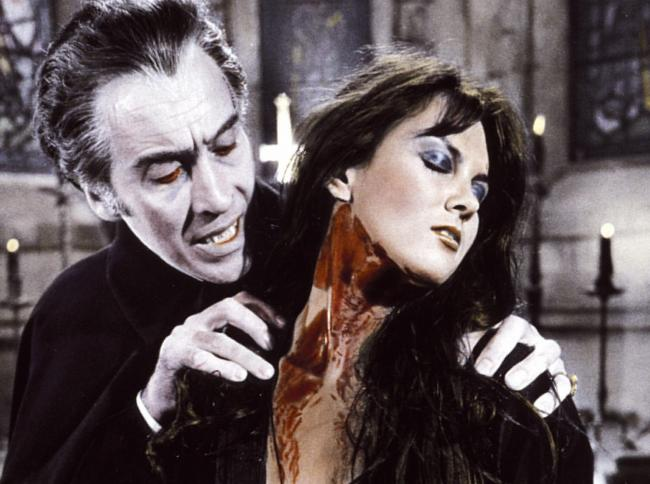 Christopher Lee starred as Dracula in 10 films. Bram Stoker's book continues to be hugely influential.