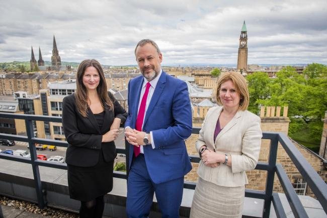 Anderson Strathern's Bruce Farquhar is working with partners Gillian Anderson and Carole Tomlinson on the Meritas team. Picture: Chris Watt.