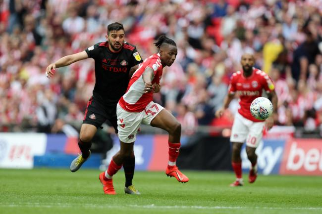 Charlton midfielder Joe Aribo could be on his way to Ibrox PHOTO: PA