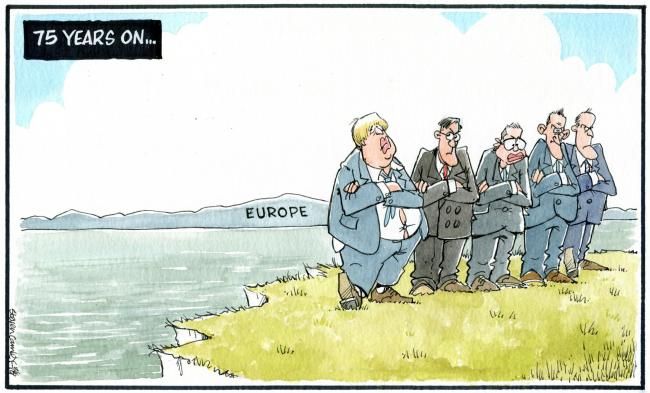 Camley's Cartoon on Saturday, June 8: European links in focus