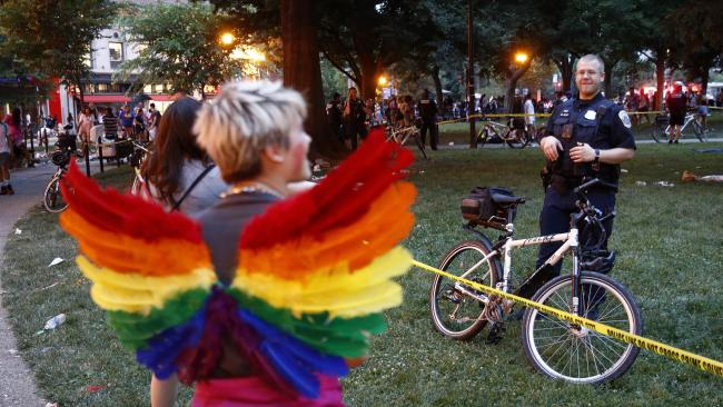 Several injured at Washington DC pride after gunshot fears spark panic