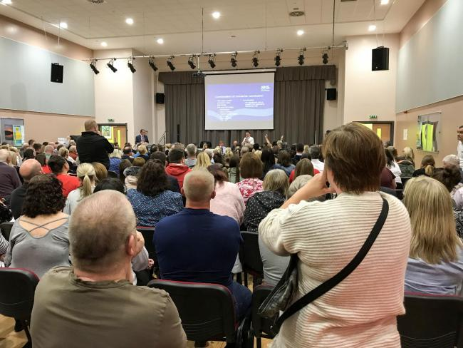 A public meeting held into the concerns